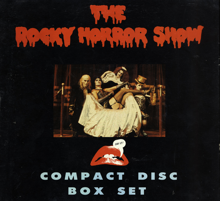 Rocky Horror Show Compact Disc Box Set (Front Cover)