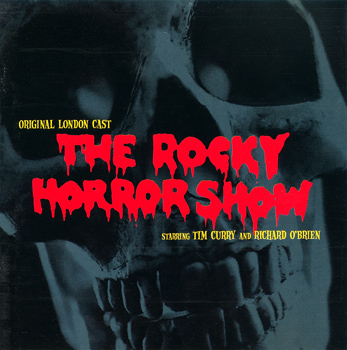 Rocky Horror Show, 1973 London Cast CD, Crimson Productions (Front Cover)