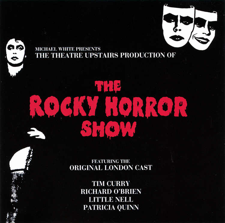 Rocky Horror Show, 1973 London Cast CD, Disky Communications Europe (Front Cover)