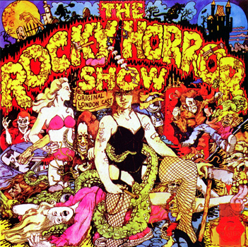 Rocky Horror Show, 1973 London Cast CD, First Night Records Cast Masters (Front Cover)