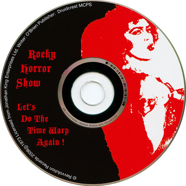 Rocky Horror Show, 1973 London Cast CD, Revvolution Records (Compact Disc)