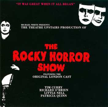 Rocky Horror Show, 1973 London Cast CD, Teldec Record Service (Front Cover)