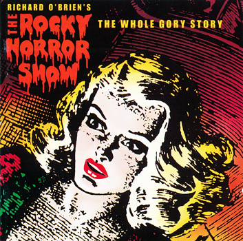 Rocky Horror Show, 1990 London Cast CD, Chrysalis Records (Front Cover)