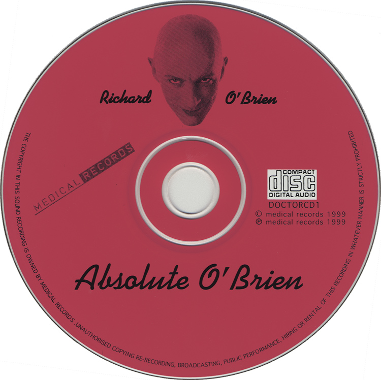 Absolute O'Brien CD, Medical Records (Compact Disc)
