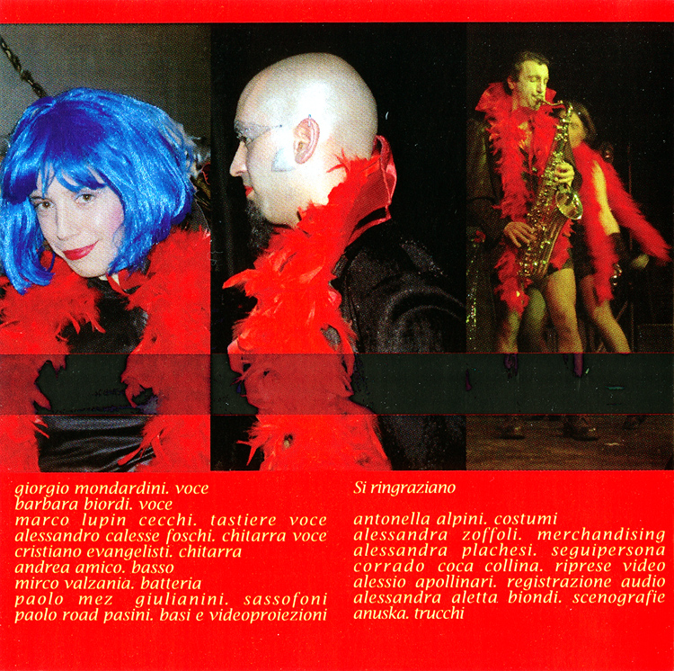 "Apple Pie ""Non sognarlo Puoi Esserlo (tratto dal Rocky Horror Picture Show)"" CD (Liner Notes Part 1)"