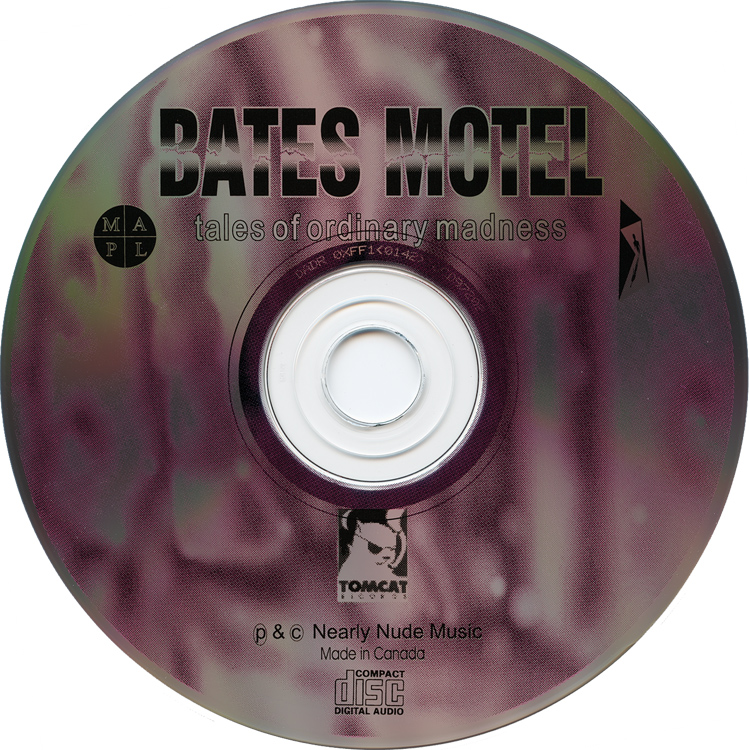 "Bates Motel ""Tales of Ordinary Madness"" CD (Compact Disc)"