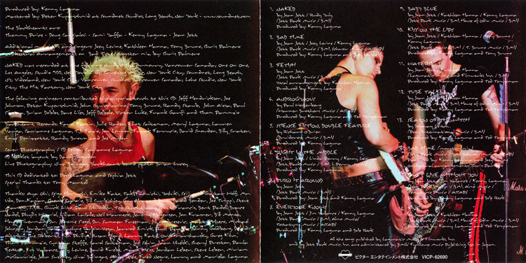"Joan Jett and the Blackhearts ""Naked"" CD (Liner Notes Part 4)"