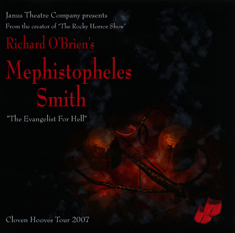 Mephistopheles Smith Cloven Hooves Tour 2007 CD-R Single (Front Cover)