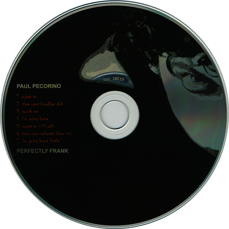 "Paul Pecorino ""Perfectly Frank"" CD (Compact Disc)"