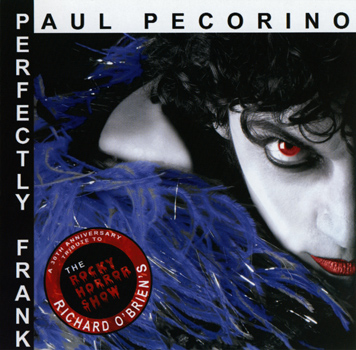"Paul Pecorino ""Perfectly Frank"" CD (Front Cover)"