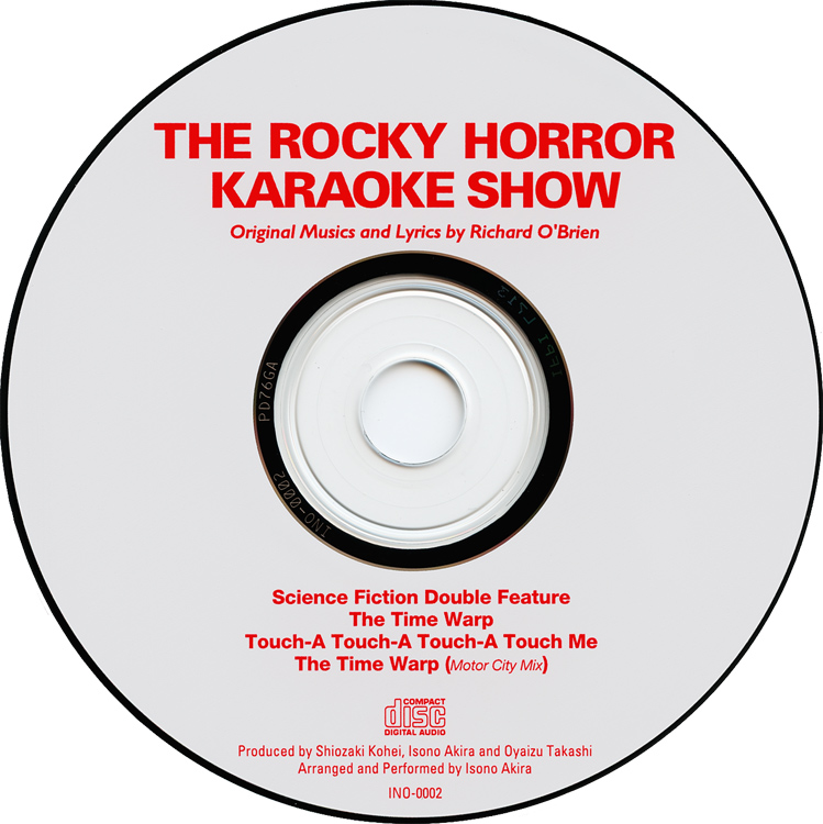 """The Rocky Horror Karaoke Show"" CD Single (Compact Disc)"