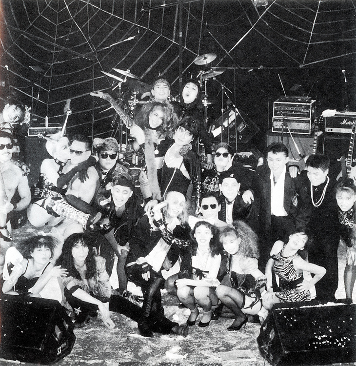 """The Rocky Horror Picture Show & Live '91 In Tokiwaza, Japan"" CD (Liner Notes Group Photo)"