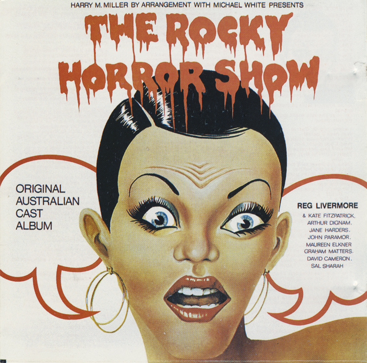 Rocky Horror Show, 1974 Australian Cast CD (Front Cover)