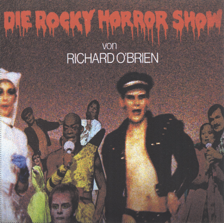 Die Rocky Horror Show, 1980 Essen Germany Cast CD-R (Front Cover)