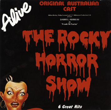 Rocky Horror Show, 1981 Australian Cast CD (Front Cover)