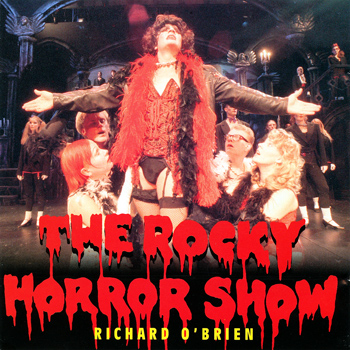 Rocky Horror Show, 1995 Finnish Cast CD (Front Cover)