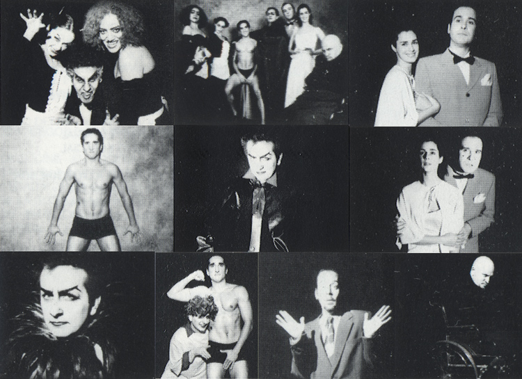 El Show De Terror De Rocky, 2001 Peruvian Cast CD (Liner Notes: Photo Collage)
