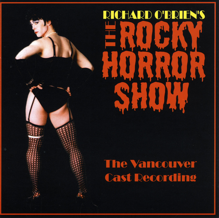 Rocky Horror Show, 2005 Vancouver Cast CD (Front Cover)