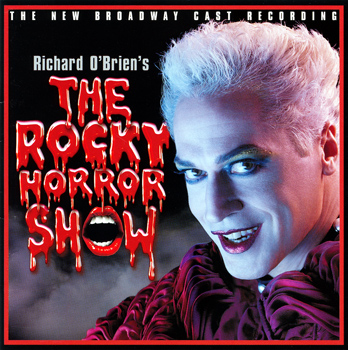 Rocky Horror Show, 2001 Broadway Cast CD (Front Cover)