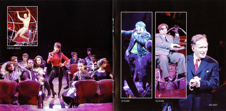 Rocky Horror Show, 2001 Broadway Cast CD (Liner Notes Part 4)