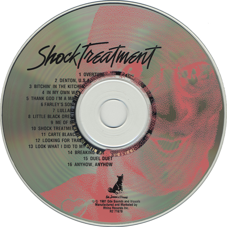 Shock Treatment Soundtrack CD (Compact Disc)