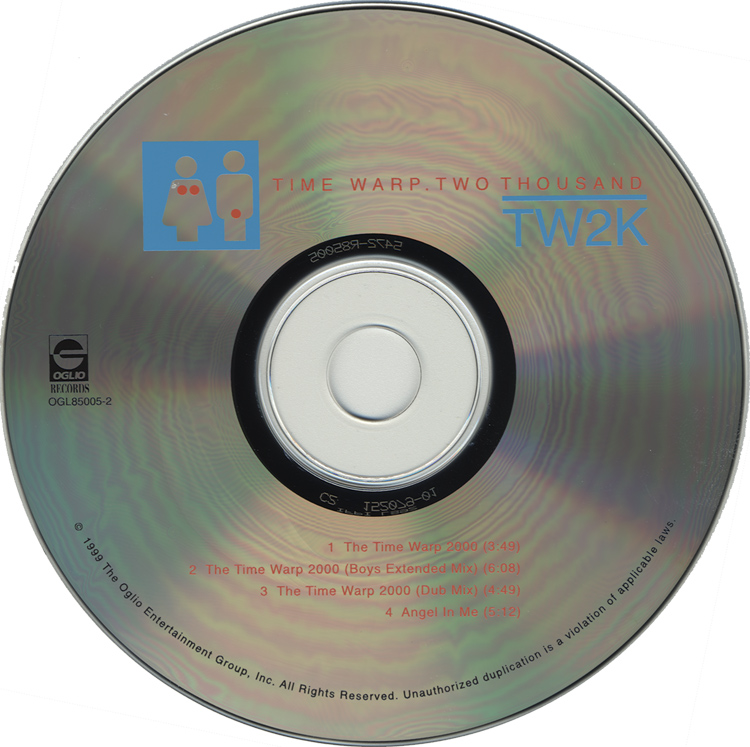 TW2K: Time Warp Two Thousand CD (Compact Disc)