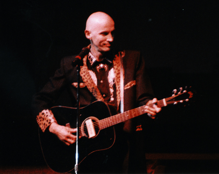 15th Anniversary Convention (Richard O'Brien with guitar)