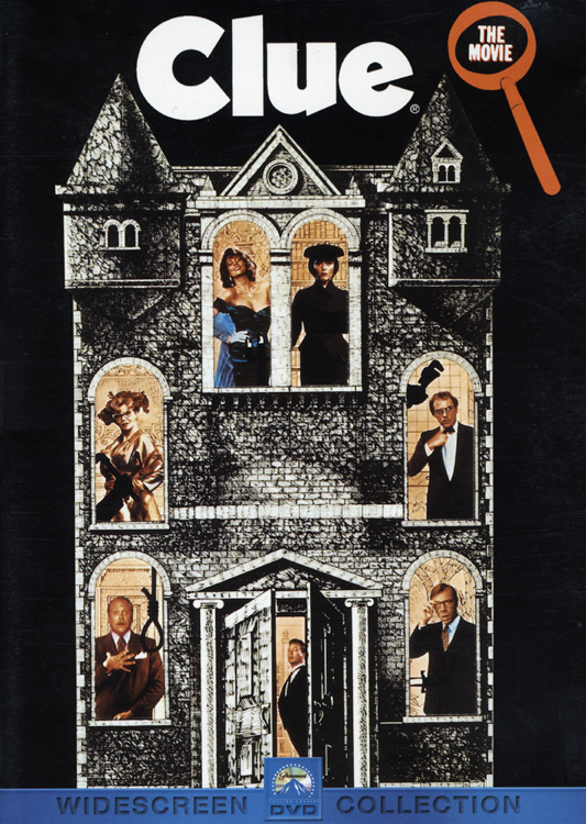 Clue (DVD Front Cover)
