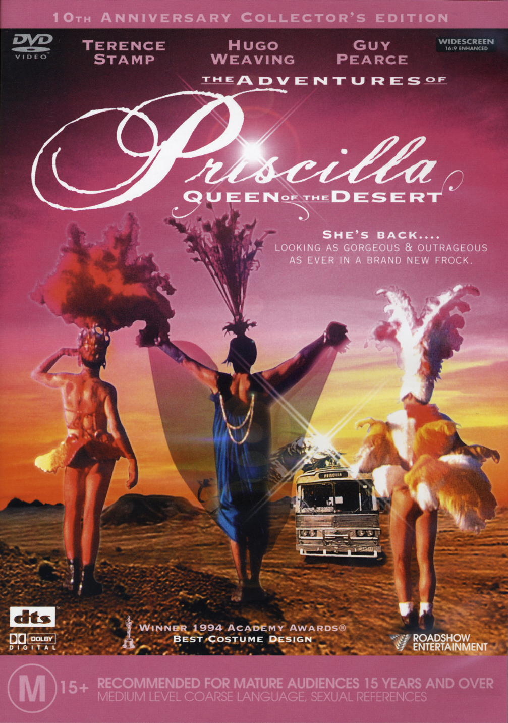 adventures of priscilla queen of the The adventures of priscilla, queen of the desert (1994):two drag performers and a transgender woman travel across the desert to perform their unique style of cabaret.