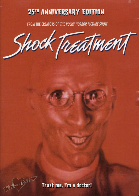 Shock Treatment (25th Anniversary DVD Front Cover)