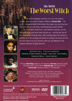 Worst Witch (DVD Back Cover)
