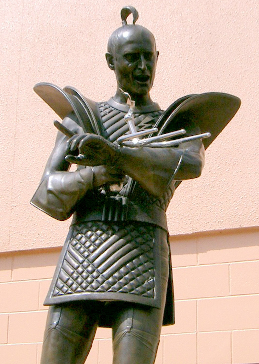 Richard O'Brien Statue (Hamilton, New Zealand)