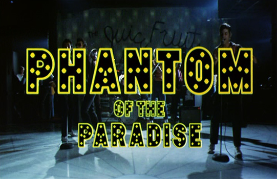 Phantom of the Paradise (Title)