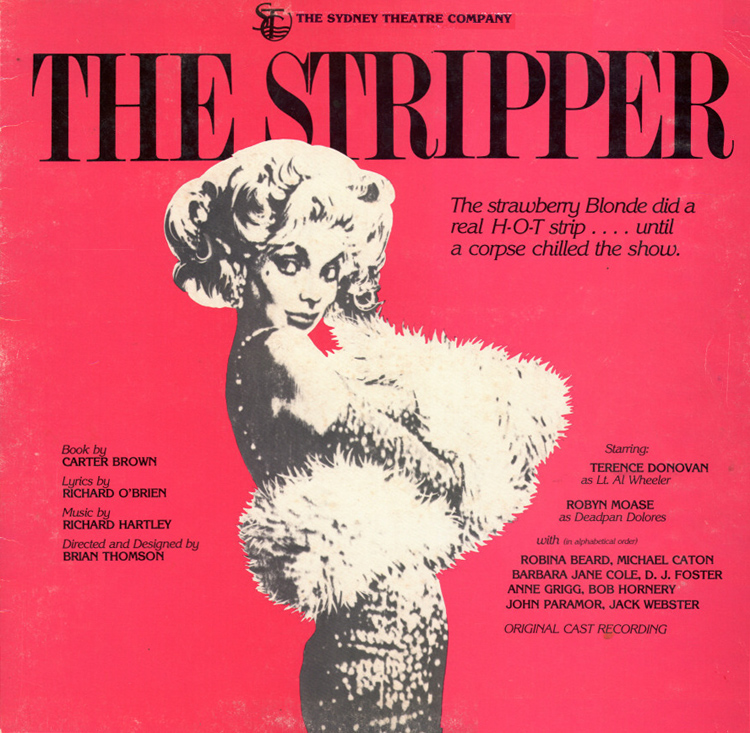 The Stripper LP (Front Cover)