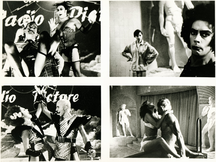Rocky Horror Picture Show (Still B&W Photo 4-Square)