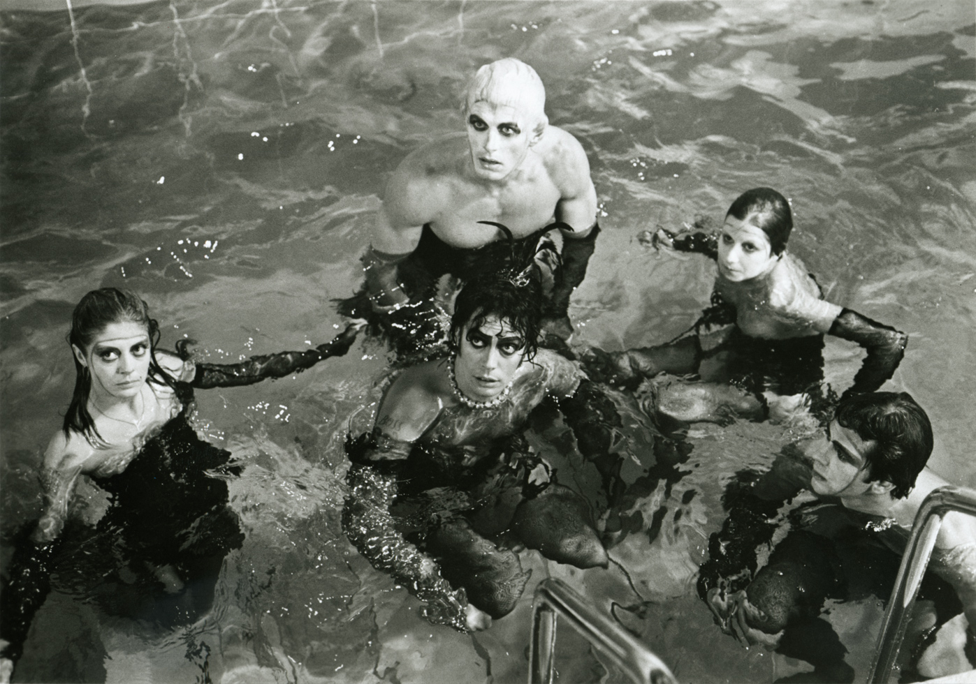 Rockymusic Rocky Horror Picture Show Still B Amp W Photo Image