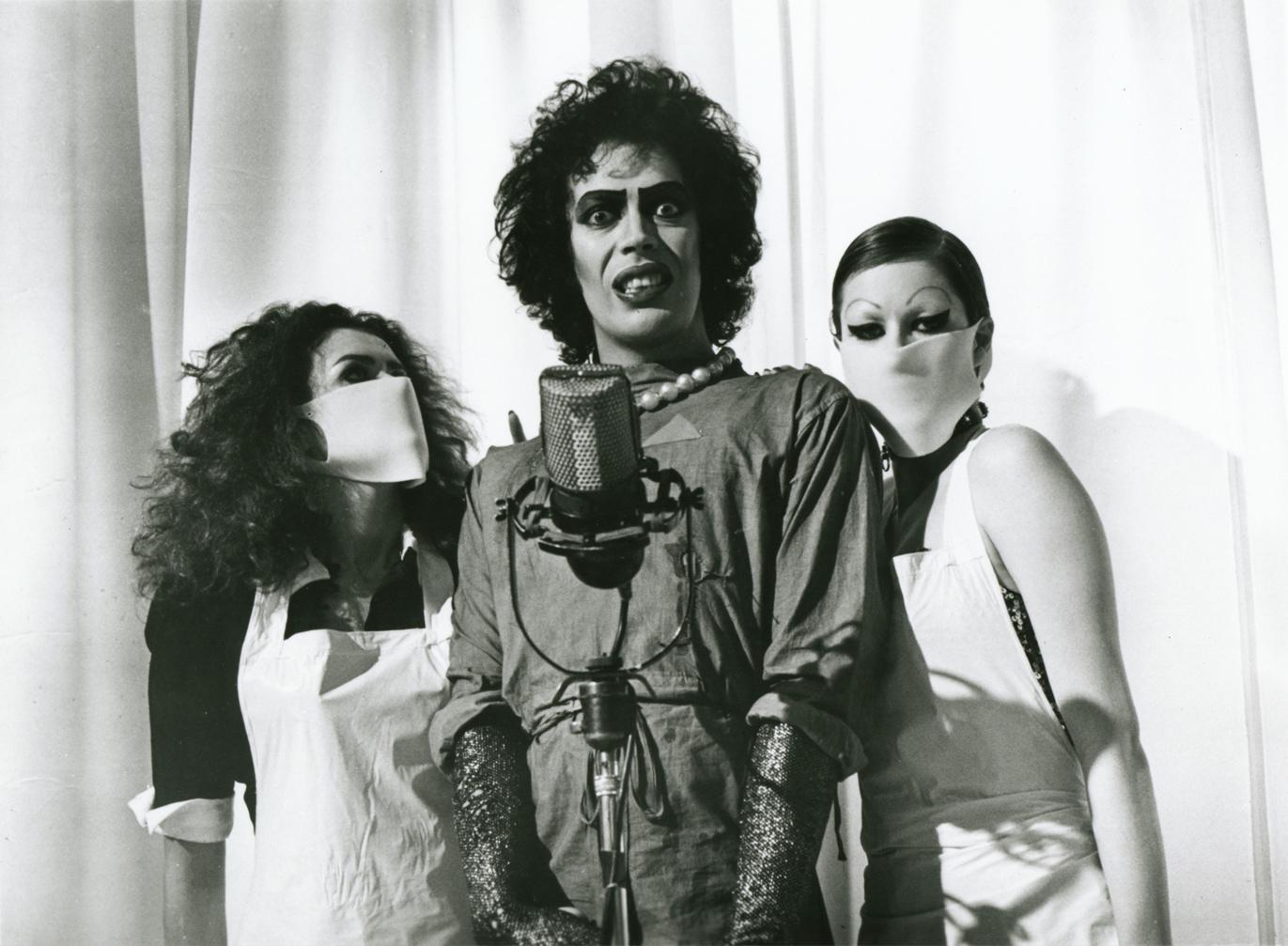 Rockymusic Rocky Horror Picture Show Still B Amp W Photo