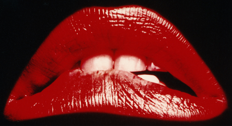 RHPS Lips rocky horror picture show.