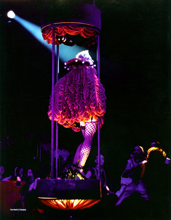 Rocky Horror Show, 2001 Broadway Cast Program (Back Cover)
