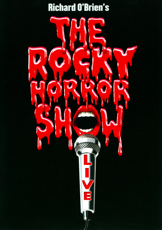 Rocky Horror Show, 2001 Broadway Cast Program (Front Cover)