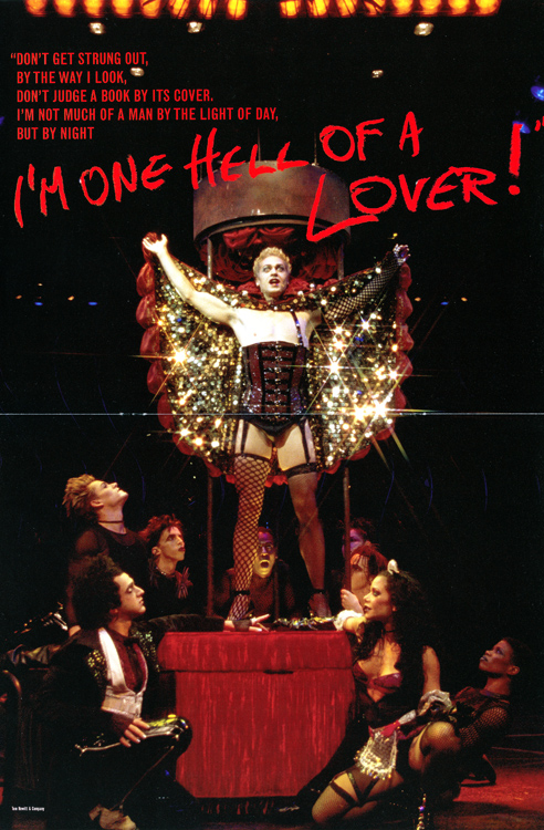 Rocky Horror Show, 2001 Broadway Cast Program (Contents Page 11-12)