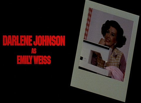 Shock Treatment Credits (Darlene Johnson as Emily Weiss)