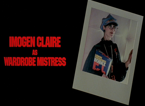 Shock Treatment Credits (Imogen Claire as Wardrobe Mistress)