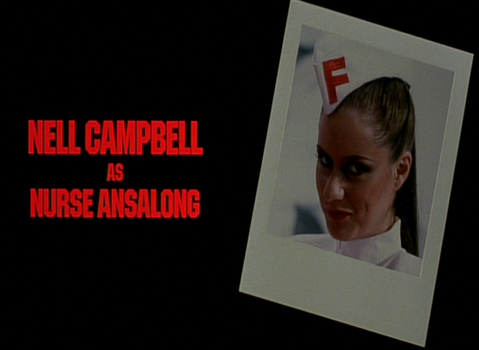 Shock Treatment Credits (Nell Campbell as Nurse Ansalong)
