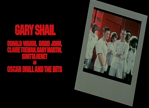 Shock Treatment Credits (Oscar Drill and The Bits)