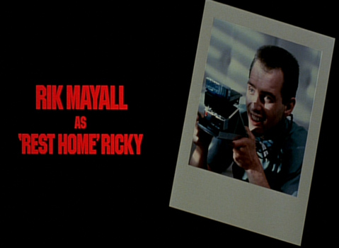 Shock Treatment Credits (Rik Mayall as 'Rest Home' Ricky)
