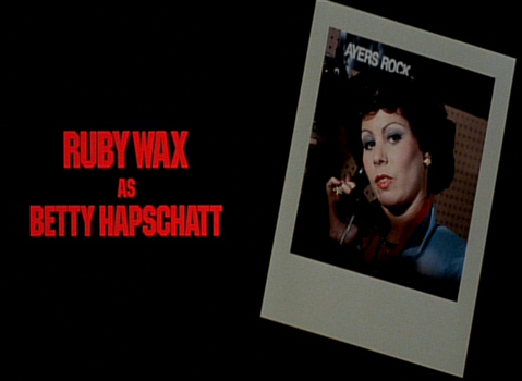 Shock Treatment Credits (Ruby Wax as Betty Hapschatt)