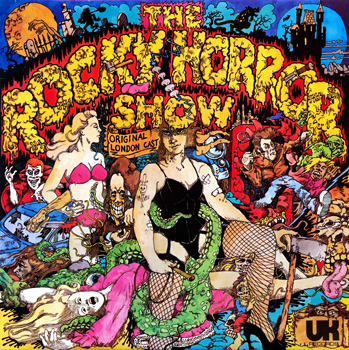 Rocky Horror Show, 1973 London Cast LP, UK Records (Front Cover)