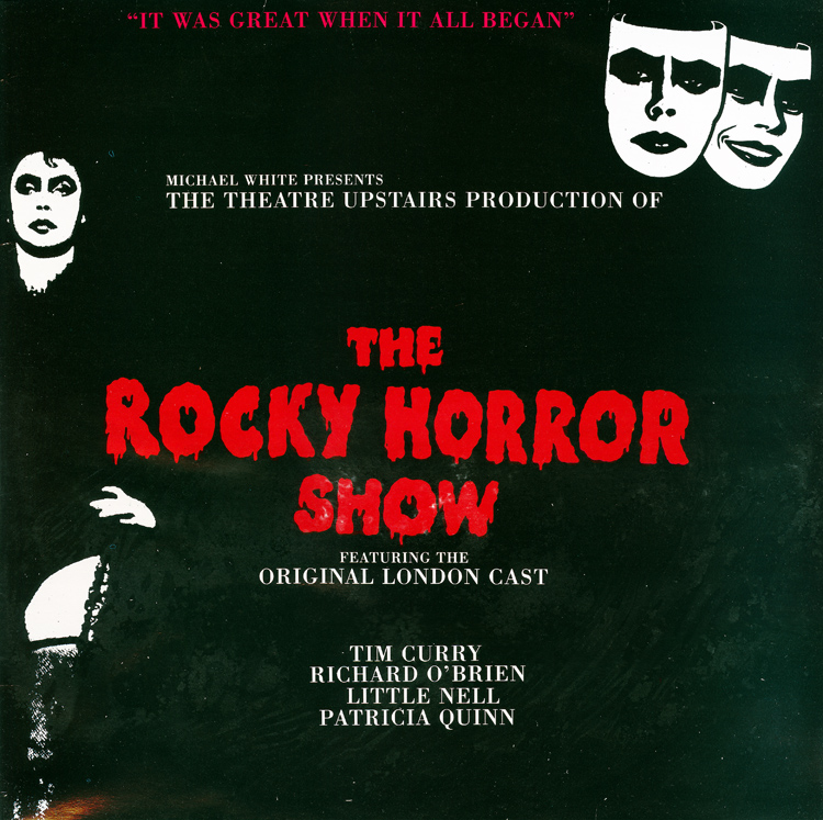 Rocky Horror Show, 1973 London Cast LP, Dojo Records (Front Cover)