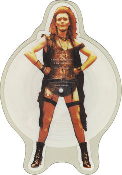 "Anthony Head ""Sweet Transvestite"" Shaped Picture Disc (Side Two)"